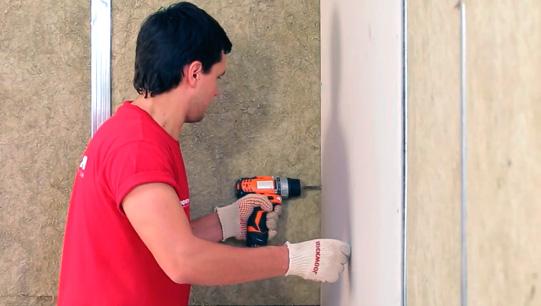 шумоизоляция стены в квартире в монолитном доме