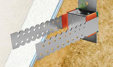 усиленная конструкция с повышенной виброразвязкой