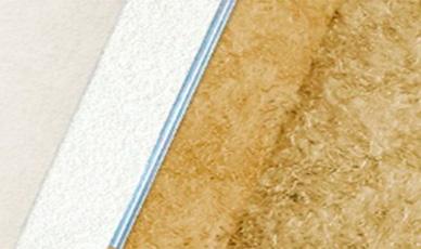 усиленная звукоизолирующая конструкция для потолка